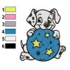 101 Dalmatians 23 embroidery design