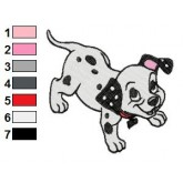 101 Dalmatians 62 embroidery design