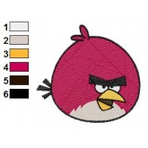 Angry Birds Embroidery Design 03