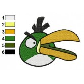 Angry Birds Embroidery Design 15
