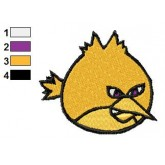 Angry Birds Embroidery Design 25