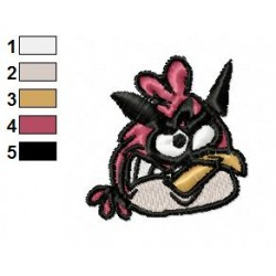 Angry Birds Embroidery Design 34