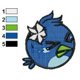 Angry Birds Embroidery Design 47