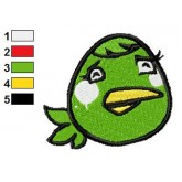 Angry Birds Embroidery Design 49