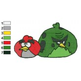 Angry Birds Space Embroidery Design 10