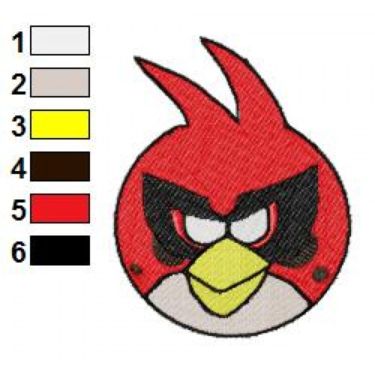 Angry birds space embroidery design 13 for Space embroidery patterns