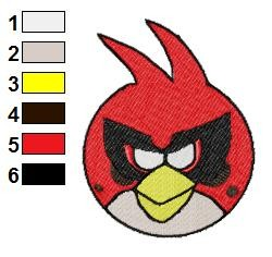 Angry Birds Space Embroidery Design 13