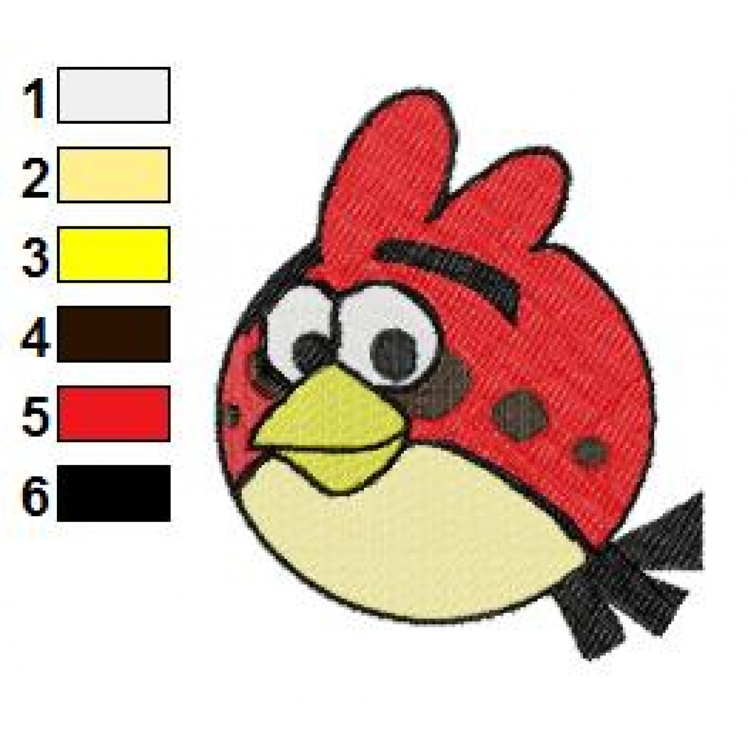 Angry birds space embroidery design 14 for Space embroidery patterns