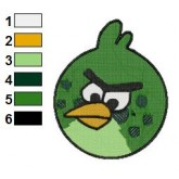 Angry Birds Space Embroidery Design 16
