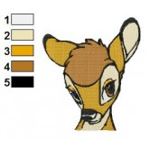 Bambi 05 embroidery design