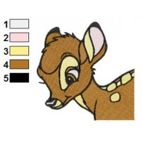 Bambi 23 embroidery design