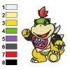 Bowser Embroidery Design