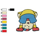 Caillou 01 embroidery design