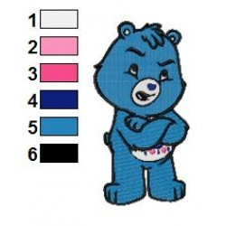 Care Bears Adventures in Care a Lot 01 embroidery design