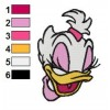 Daisy Duck 10 embroidery design