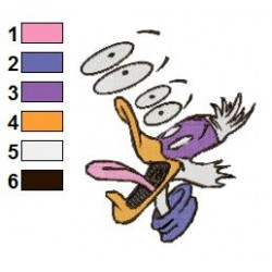 Darkwing Duck 01 embroidery design