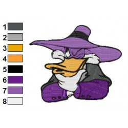 Darkwing Duck 02 embroidery design