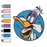 Darkwing Duck 03 embroidery design
