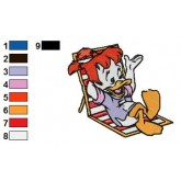 Darkwing Duck 07 embroidery design