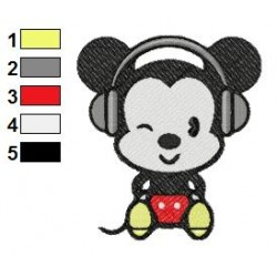 Disney Cuties 03 embroidery design
