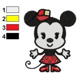 Disney Cuties 16 embroidery design