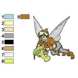 Disney Fairies 05 embroidery design