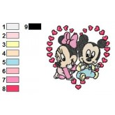 Disney babies 16 embroidery design