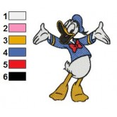 Donald Duck 03 embroidery design