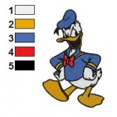 Donald Duck 04 embroidery design