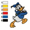 Donald Duck 08 embroidery design