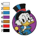 Ducktales 04 embroidery design