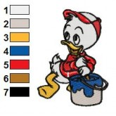 Ducktales 08 embroidery design