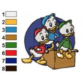 Ducktales 10 embroidery design