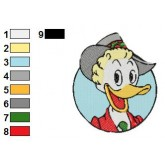 Ducktales 11 embroidery design