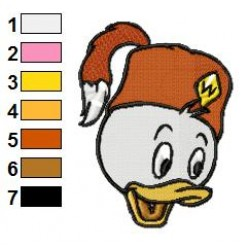 Ducktales 12 embroidery design