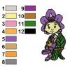 Fifi and the Flowertots 03 embroidery design