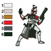 Fordo Star Wars Embroidery Design