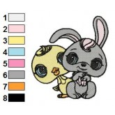 Littlest Pet Shop 02 embroidery design