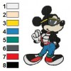 Mickey Mouse 30 embroidery design