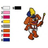 Muppet Babies 09 embroidery design