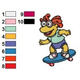 Muppet Babies 12 embroidery design