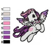 My Little Pony 04 embroidery design