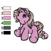 My Little Pony 06 embroidery design