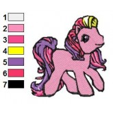 My Little Pony 10 embroidery design