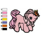 My Little Pony 12 embroidery design