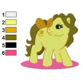 My Little Pony Belle Embroidery Design