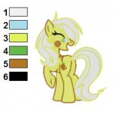 My Little Pony Embroidery Design 16