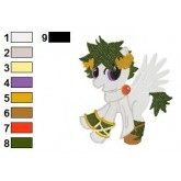 My Little Pony Embroidery Design 20
