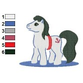 My Little Pony Prince Eric Embroidery Design