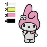 My Melody 04 embroidery design